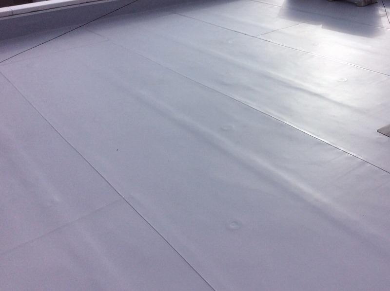 松原市にて防水工事(屋上からの雨漏り解決)手順も詳しく紹介