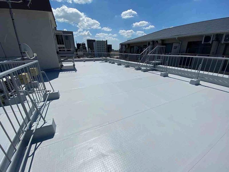 八尾市にて屋上防水工事を実施した施工内容のご紹介