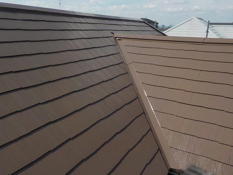 松原市で屋根塗装を実施(遮熱塗料で付加価値のある屋根に)