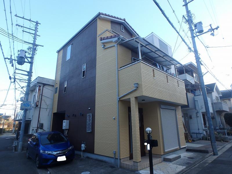 堺市にて 初めての外壁塗装に満足して頂いたお客様の声ご紹介