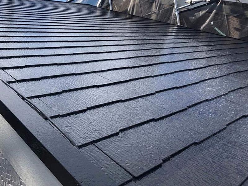 松原市にて屋根塗装を実施(屋根塗装工事の料金も公開)