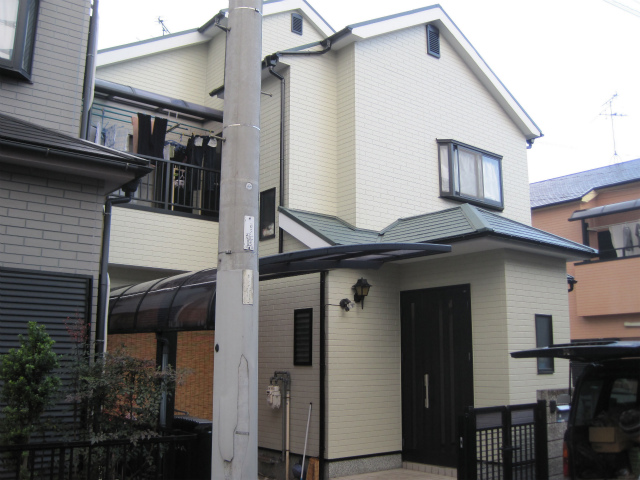 松原市にて 遮熱・断熱塗料で外壁塗装・屋根塗装