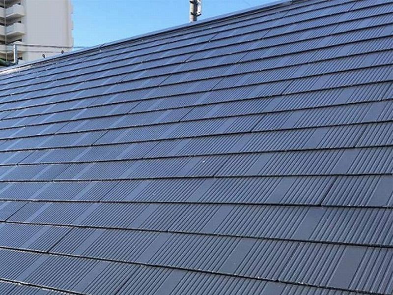 松原市の屋根塗装(紹介でご依頼を頂きました)